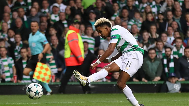 Scott Sinclair puts Celtic 2-0 up