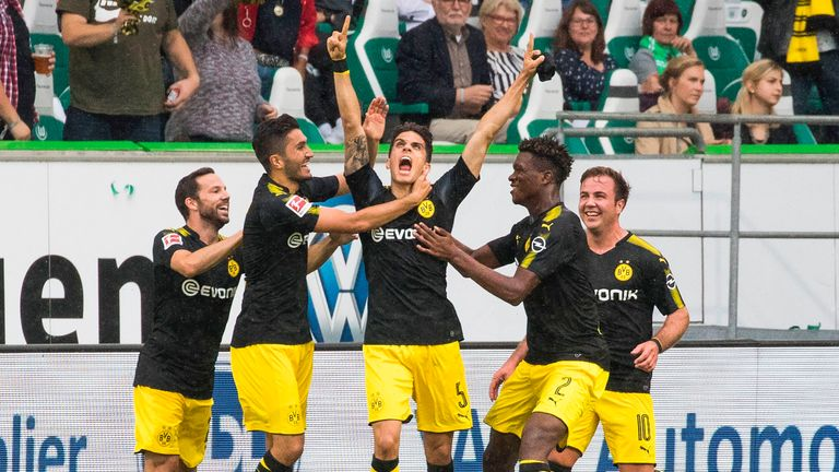 Marc Bartra scored the second in Dortmund's 3-0 win