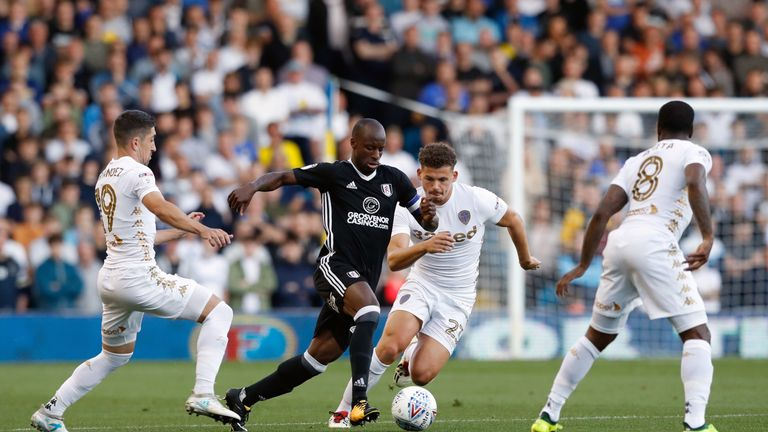 Sone Aluko left Fulham to join Reading