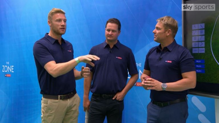 Andrew Flintoff, Rob Key and Shane Warne deliver the latest Sunday Coaching Clinic