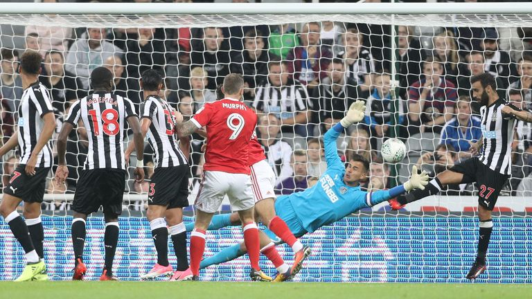 Nottingham Forest beat Newcastle after extra-time in last season's second round