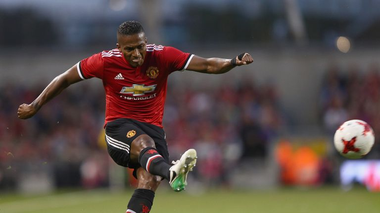 Antonio Valencia received praise for his performance in the Manchester derby, despite United's defeat