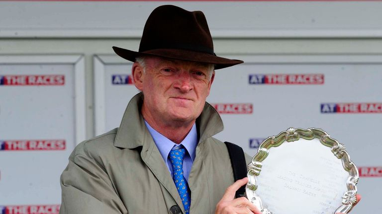 Willie Mullins - strong team heading to Irish Cesarewitch