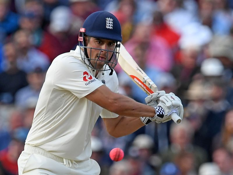 He would finally fall for 243 and England declared on 514-8