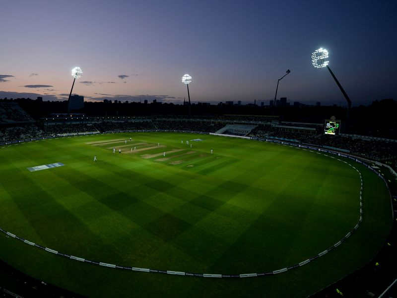 The first-ever day-night Test took place at Edgbaston