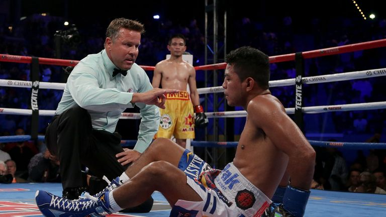 Gonzalez was knocked out by Sor Rungvisai last time out