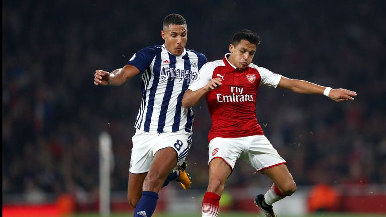 Alexis Sanchez started against West Brom after being left on the bench at Chelsea