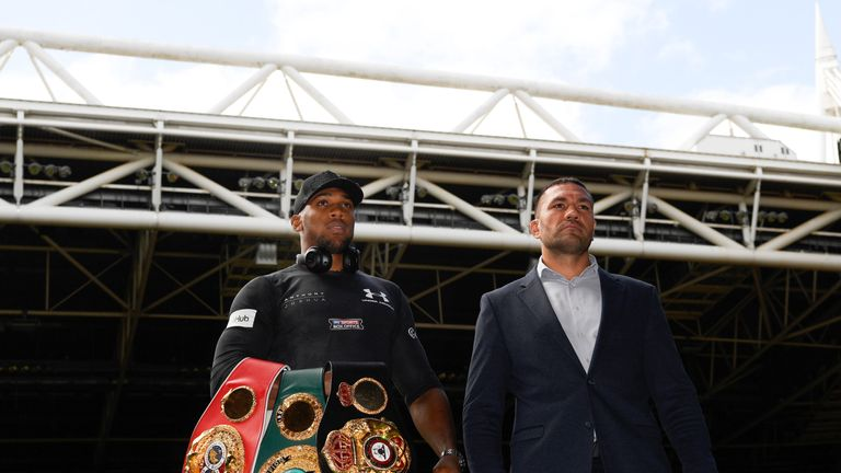 Anthony Joshua will make his next defence against Kubrat Pulev