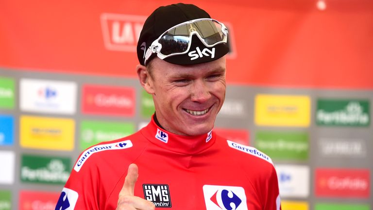 Froome is under investigation over levels of salbutamol in his urine after a stage of the Vuelta