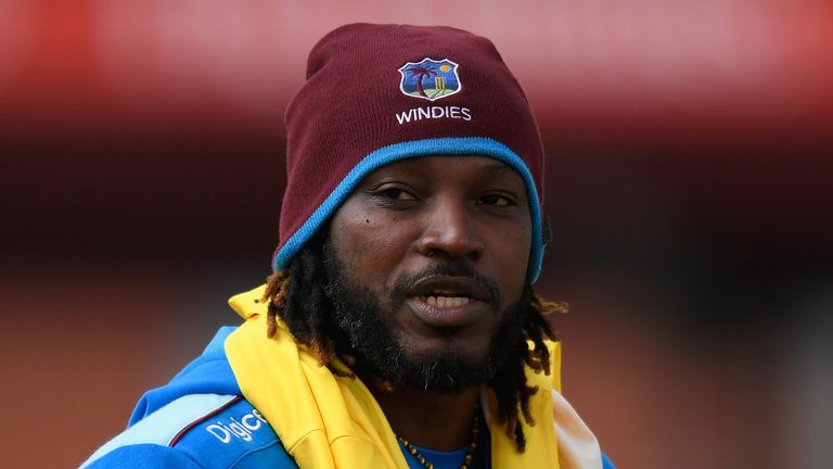 Chris Gayle pulled up in training with a hamstring problem ahead of the second ODI