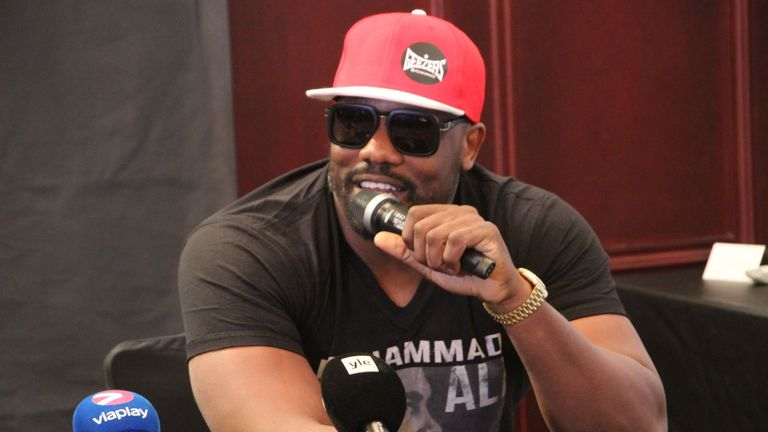 Dereck Chisora has signed for Matchroom Boxing promoter Eddie Hearn