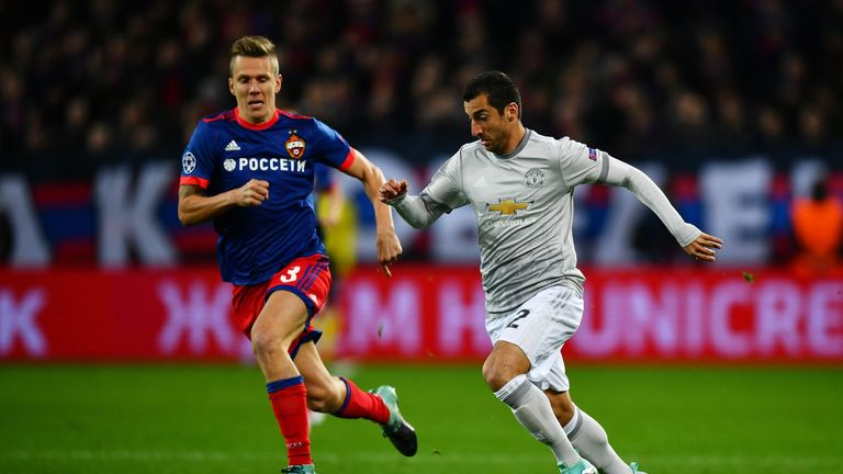 Henrikh Mkhitaryan is 'lucky' to play for Man Utd, says Phil Neville
