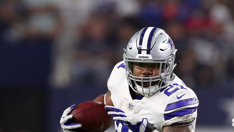 Ezekiel Elliott had to sit out six games over a controversial ban handed out by Goodell
