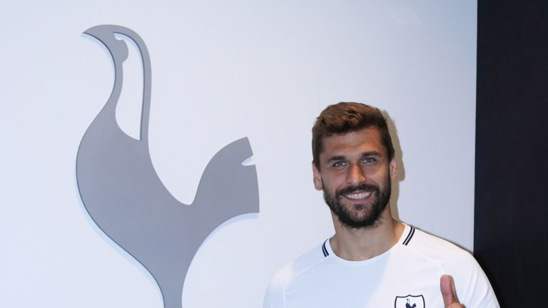 Fernando Llorente has joined Tottenham