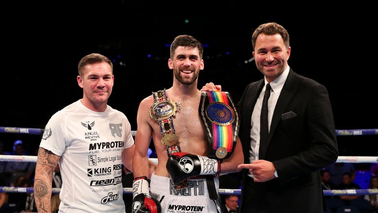 Rocky Fielding has received his first shot at a world title