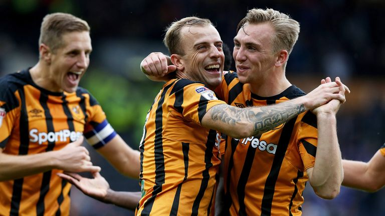 A 6-1 win over Birmingham  in September was a rare highlight for Hull during Slutsky's tenure