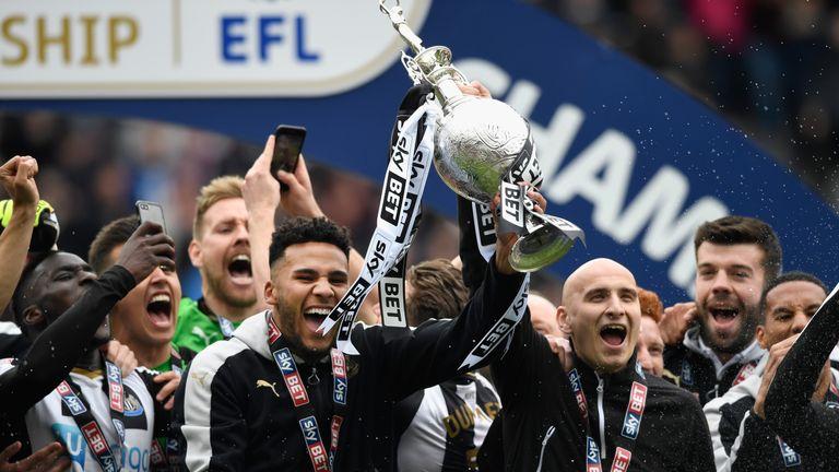 Newcastle won the Championship last season