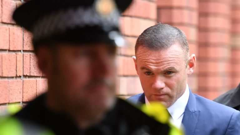 Wayne Rooney was almost three times the legal limit, the court heard