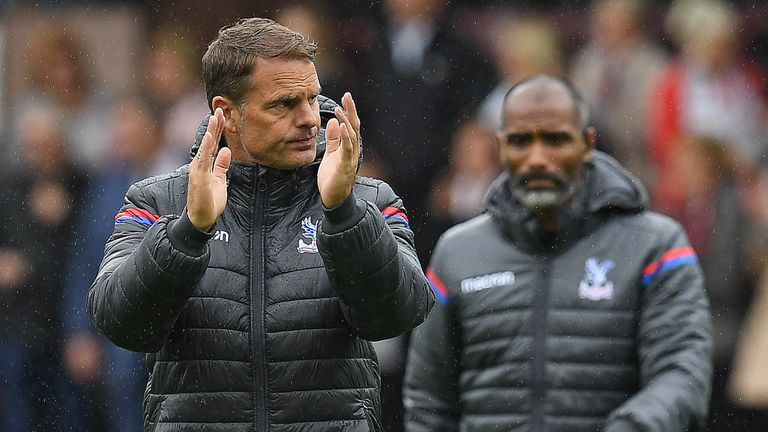 Crystal Palace sacked Frank de Boer after 77 days in charge