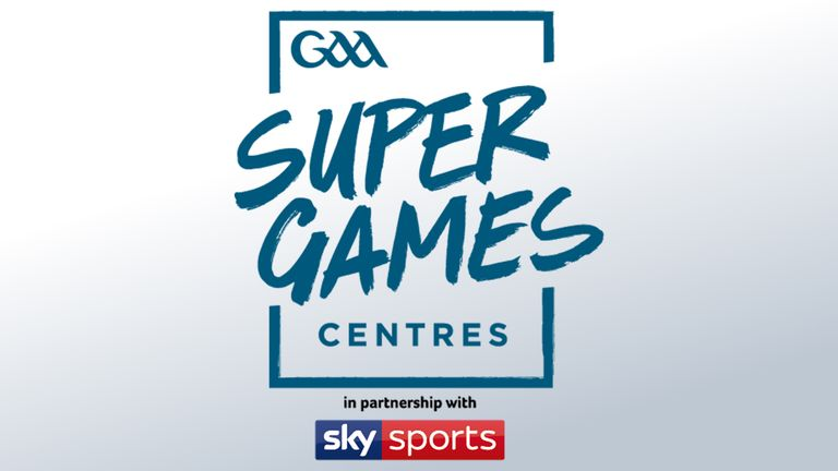 The GAA Super Games Centres is one of three grassroots initiatives that Sky Sports will support