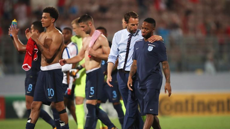 England are hoping to build on their 4-0 win over Malta