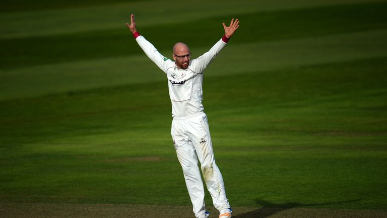 Jack Leach was named in the England Lions squad for a training camp in Australia