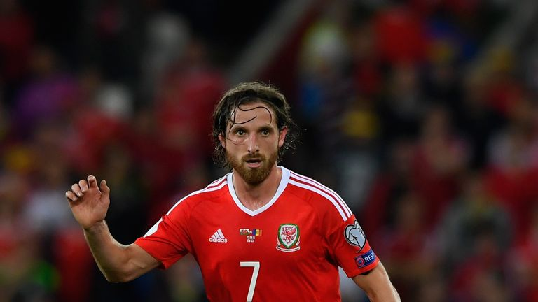 Joe Allen says Wales are 'gutted' Coleman has left
