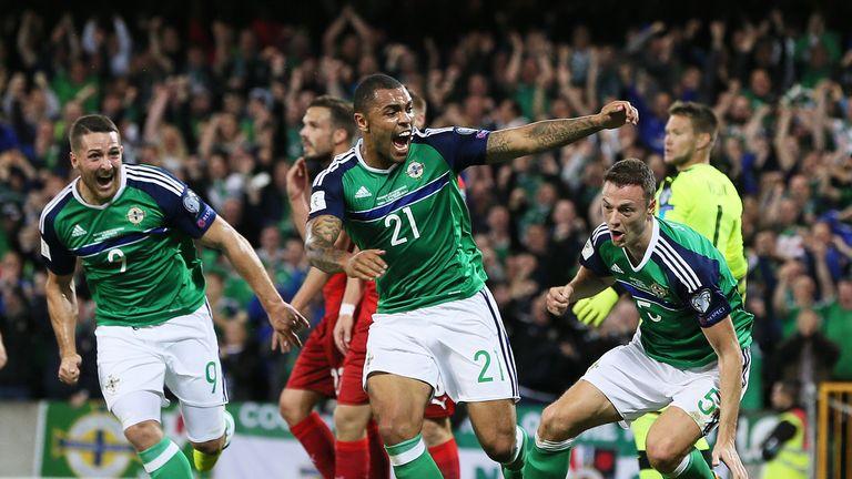 Jonny Evans (right) opened the scoring