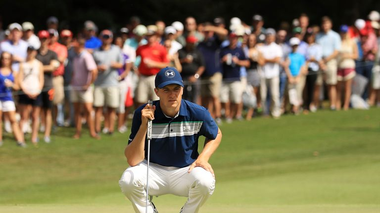 Spieth ended the week on seven under