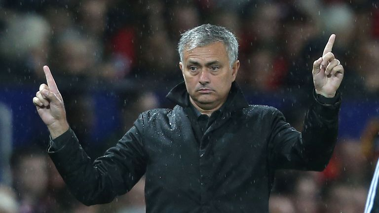 Jose Mourinho led United back into the Champions League