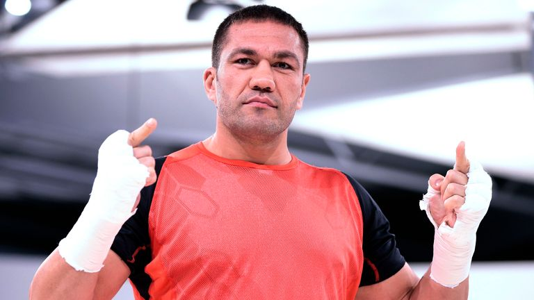 Pulev beat Bogdan Dinu in Las Vegas on Saturday for his 27th win in 28 fights