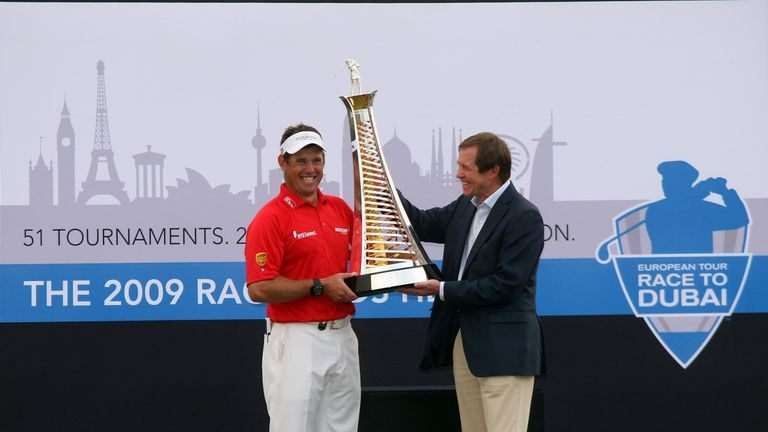 Westwood finished European No 1 in 2009