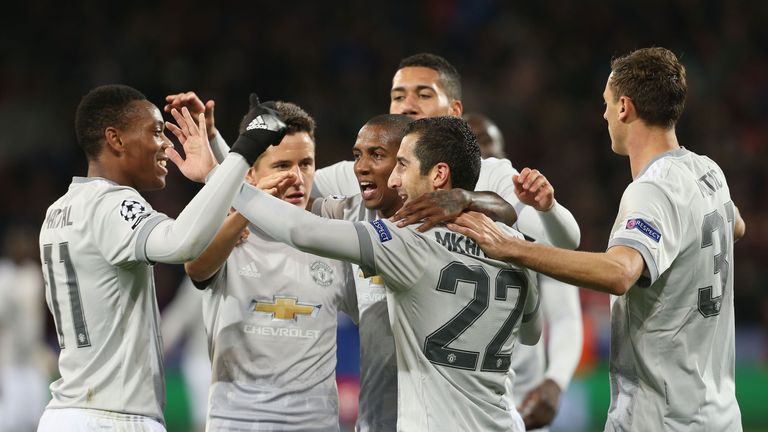 Manchester United won the reverse fixture  4-1 away at CSKA Moscow