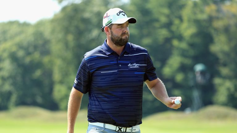 Leishman led after a flawless outward 30, but he stumbled home in 40