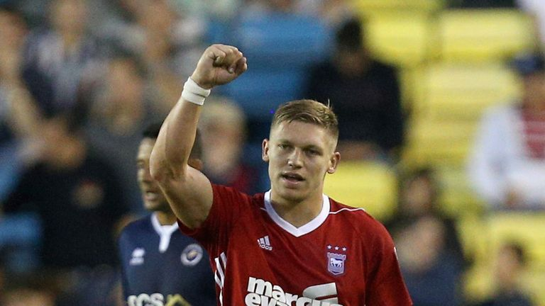 Martyn Waghorn scored four goals for Ipswich in August