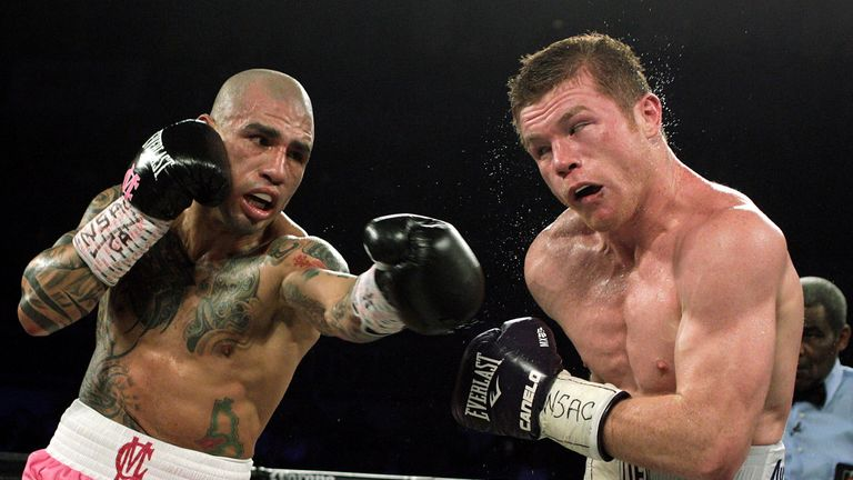 Miguel Cotto (left) will call time on his boxing career after his next fight