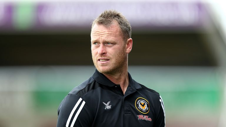 Mike Flynn says Newport deserved a result against Tottenham