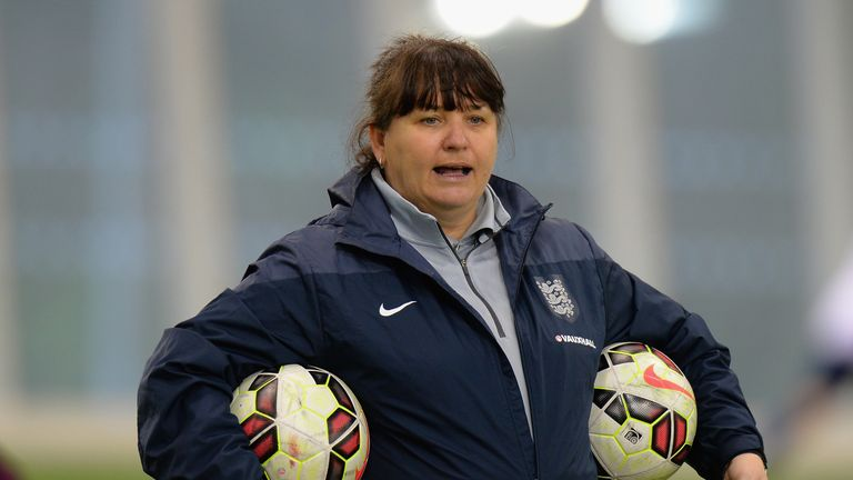 Mo Marley is currently the interim manager of the England side