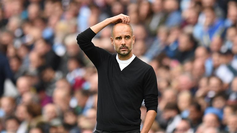 Guardiola will be without Vincent Kompany once again