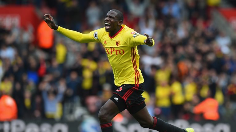 Abdoulaye Doucoure scored the opening goal for Watford on Saturday