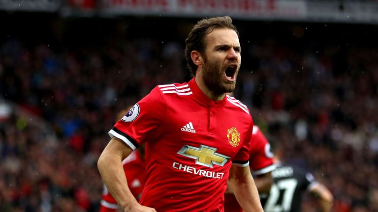 Manchester United Extend Juan Mata's Contract By One Year