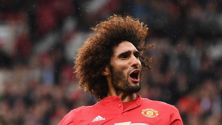 Marouane Fellaini rejected a contract offer from Manchester United in September