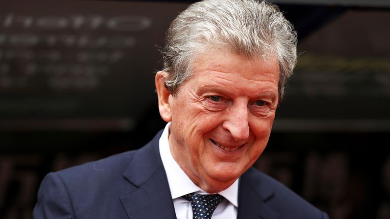 Roy Hodgson has managed in eight countries during his career