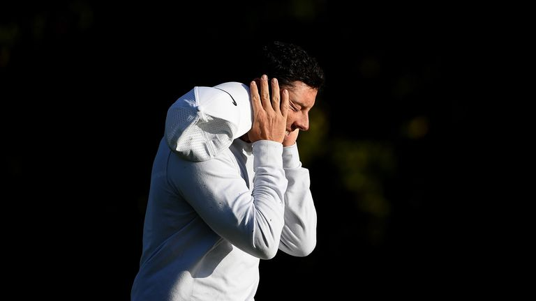 McIlroy admitted not being able to practice as much as he wanted last year took a toll mentally