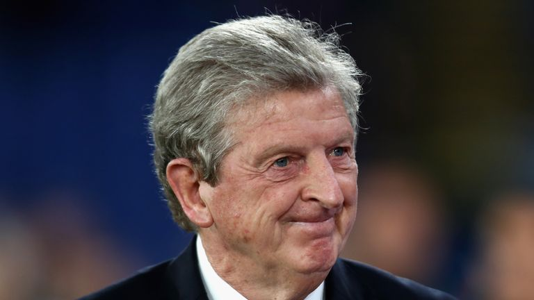 Roy Hodgson is looking to guide Palace to their first league points of the season