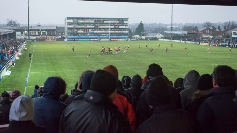 2018 may be the year when Wakefield's ambition to leave  Belle Vue Stadium is realised