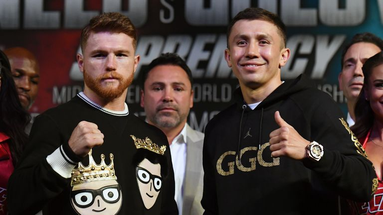Saul Alvarez and Gennady Golovkin have fought each other but not Andrade