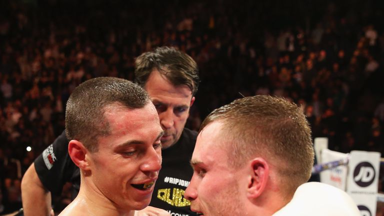 Quigg still wants to avenge his loss to Frampton