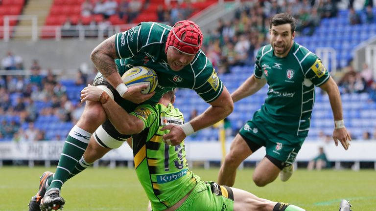 London Irish have suggested they're open to the idea of a 14 team ring-fenced Premiership