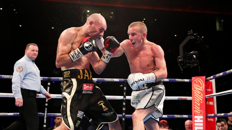 Butler beat rival Hall in September to close in on another world title shot